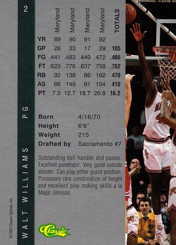 1992 Classic 4-Sport #002 (2)