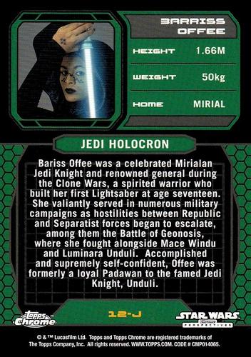 Chrome Perspectives Jedi vs  Sith #12J (2)