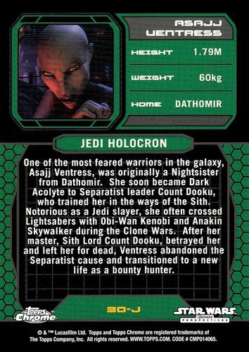 Chrome Perspectives Jedi vs  Sith #30J (2)