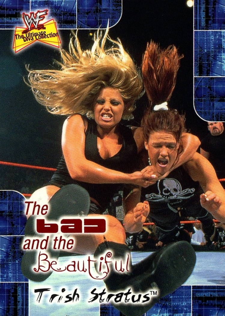 2001 WWF Ultimate Divas Collection The Bad and the Beautiful #07BB (1)