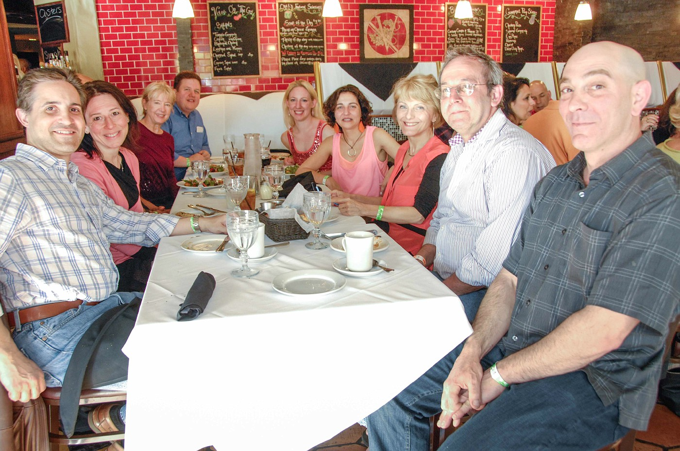 SwingShoes Group Dinner at Swingin Into Spring - Table 1