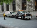 NYPD clearing the way