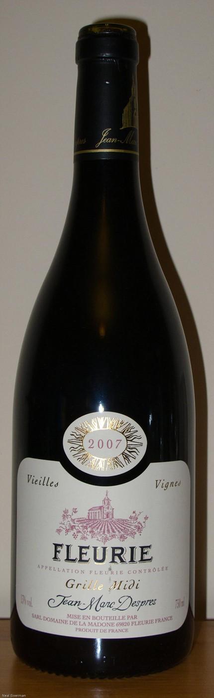 Domaine de la Madone Fleurie Grille Midi 2007