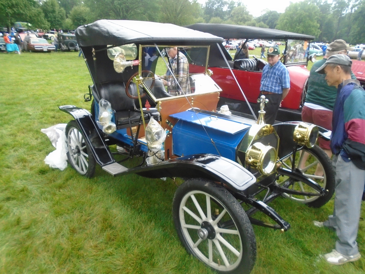 Stan Hywett Hall Car Show, some classics and a Dan Guerny