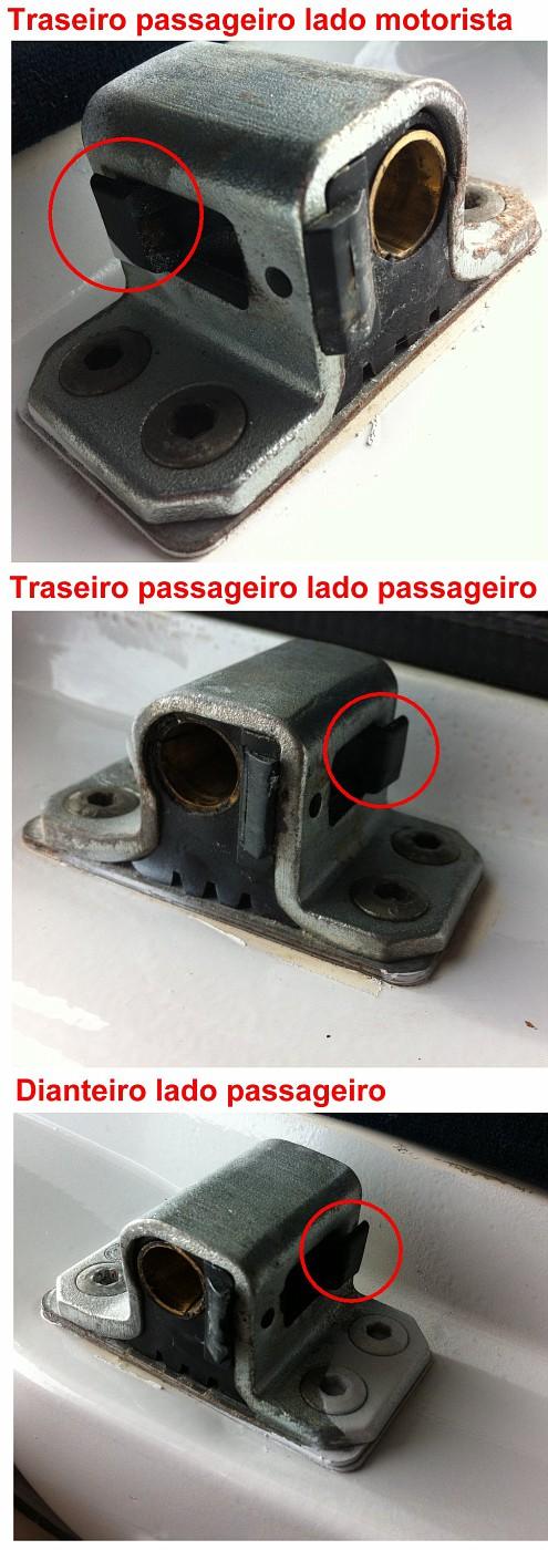 (COMPRO): Batentes da porta e dos amortecedores traseiros - W126 280S 1980 280Sbatentedasportas-vi