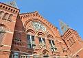 The magnificent Music Hall in Cincinnati, Ohio.