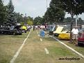 I Memorial Park börjar det att fyllas på med bilar.