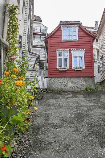 House in Bergen, Norway