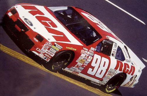 RCA thunderbird NASCAR slixx decals