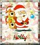 Santa with friendsTaHolly