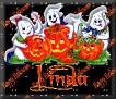 3 Ghosts & pumpkinLinda