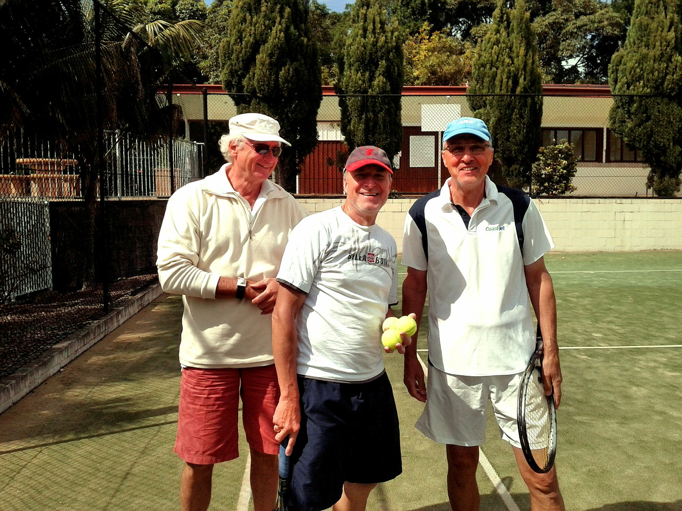 2011 09 27 2 Tues tennis guys Bernd and Gerhard