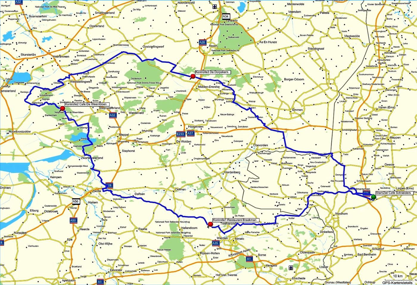 """Route """"Grachtentour"""""""