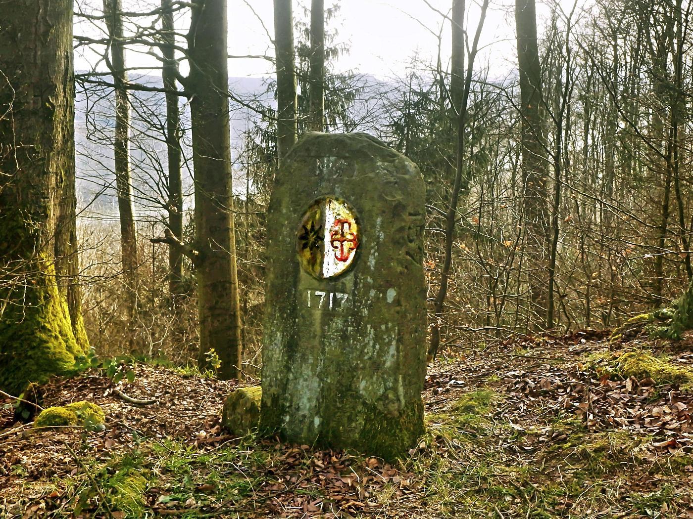 Grenzstein Fürstentum Waldeck-Pyrmont