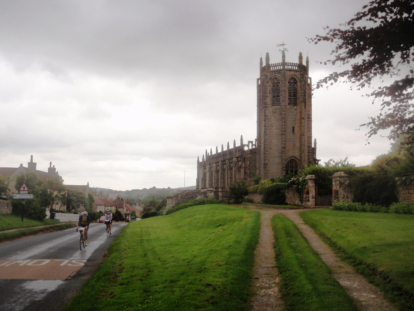 St. Michael`s Church in Coxwold