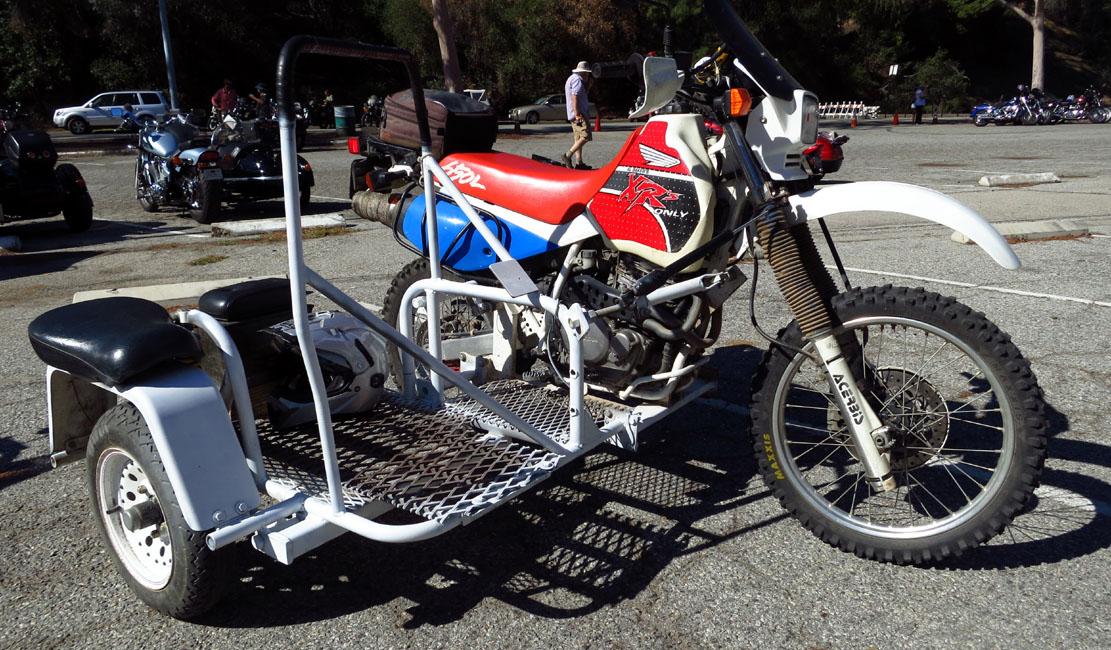 426 Honda dirt racer sidecar