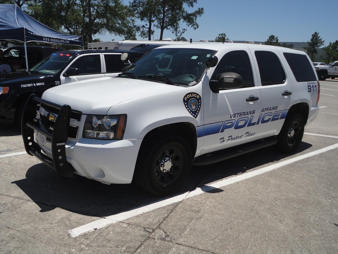 department of veterans affairs police