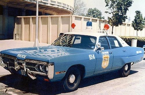 PA- Philadelphia Police 1972 Plymouth
