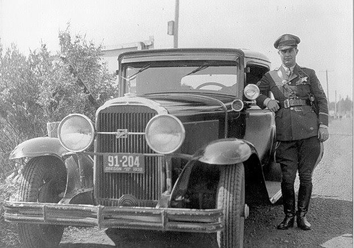 OR- Oregon State Police 1932 Buick