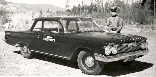 OR- Oregon State Police 1961 Chevrolet
