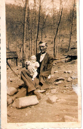 6-Great Grandpa Archie Moffett and Uncle Del