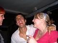 2006-09-08 : Ron's 30th Birthday : Cafe Aspen : Laura & Ron & Mary