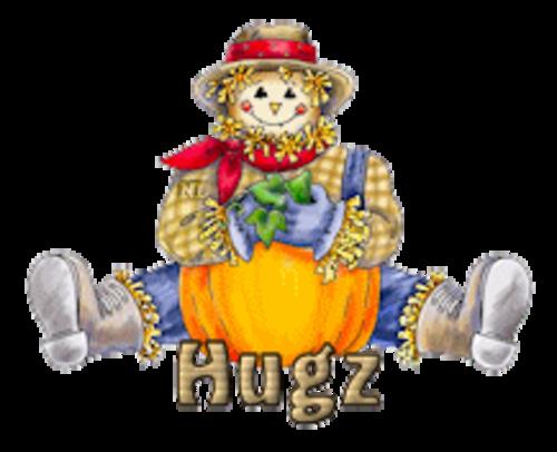 Hugz - AutumnScarecrowSitting