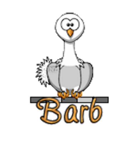 Barb - OstrichWithBlinkie