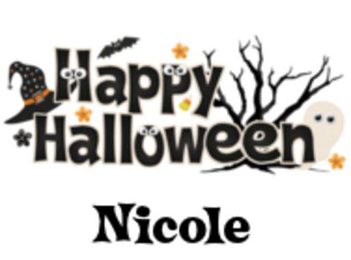 Nicole - HappyHalloween-Vicki-Oct 7, 2018