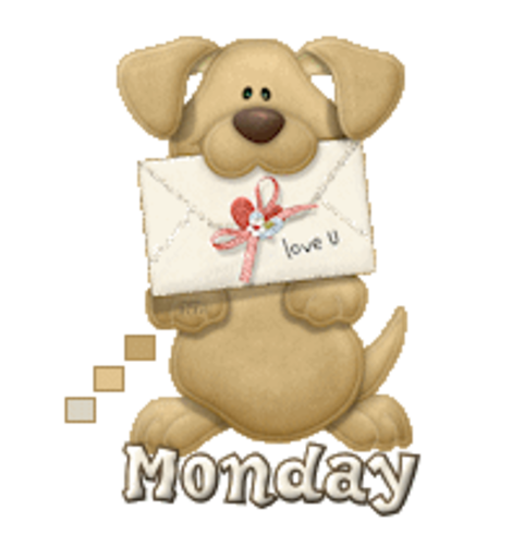 DOTW Monday - PuppyLoveULetter