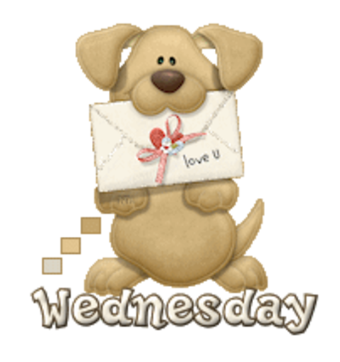 DOTW Wednesday - PuppyLoveULetter