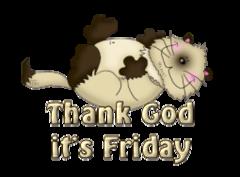 Thank God it's Friday - KittySitUps