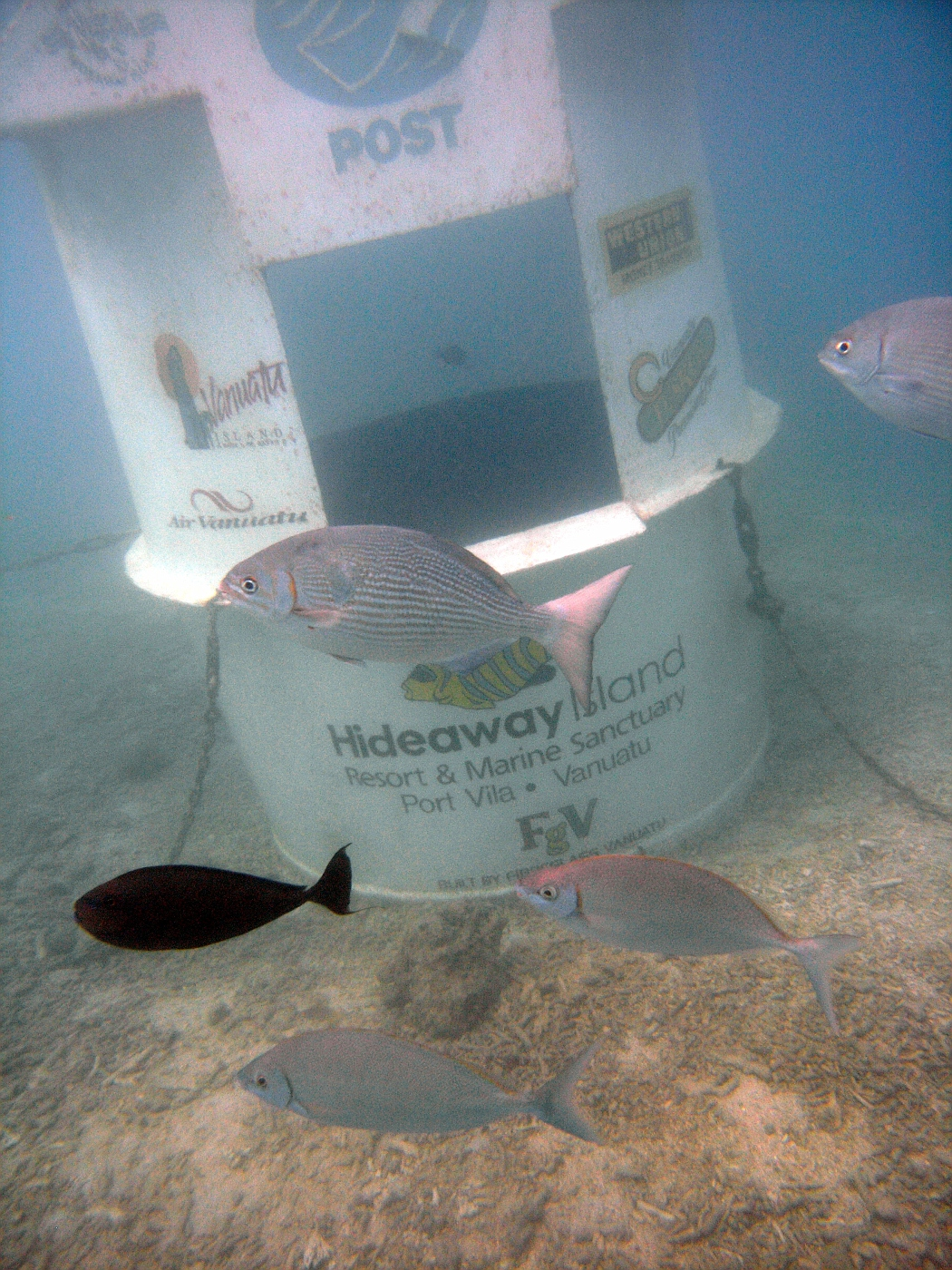 World's First Underwater Post Office