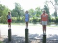 Katie, Kerry & Kelly at Island Park, Winfield KS