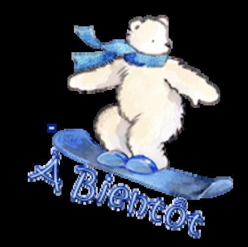 A Bientot - SnowboardingPolarBear
