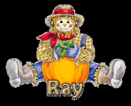 Ray - AutumnScarecrowSitting