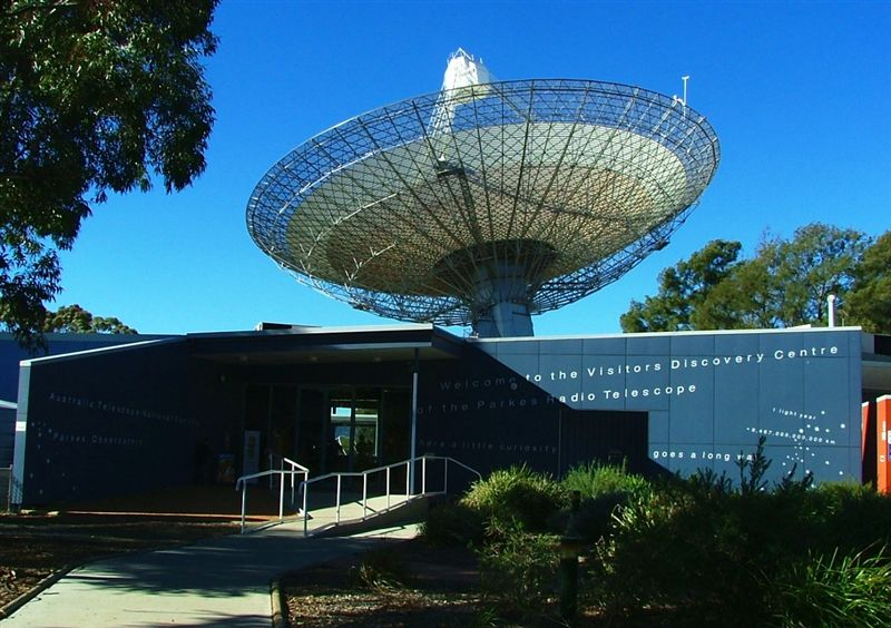 Parkes Radio Telescope Visitors Discovery Centre