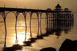 Sun Down At The Pier