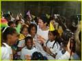 Brad Pitt in Haiti