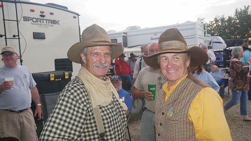 Tom Payne and Rowdy