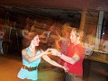 With Silvana during her birthday dance, March 13, 2007