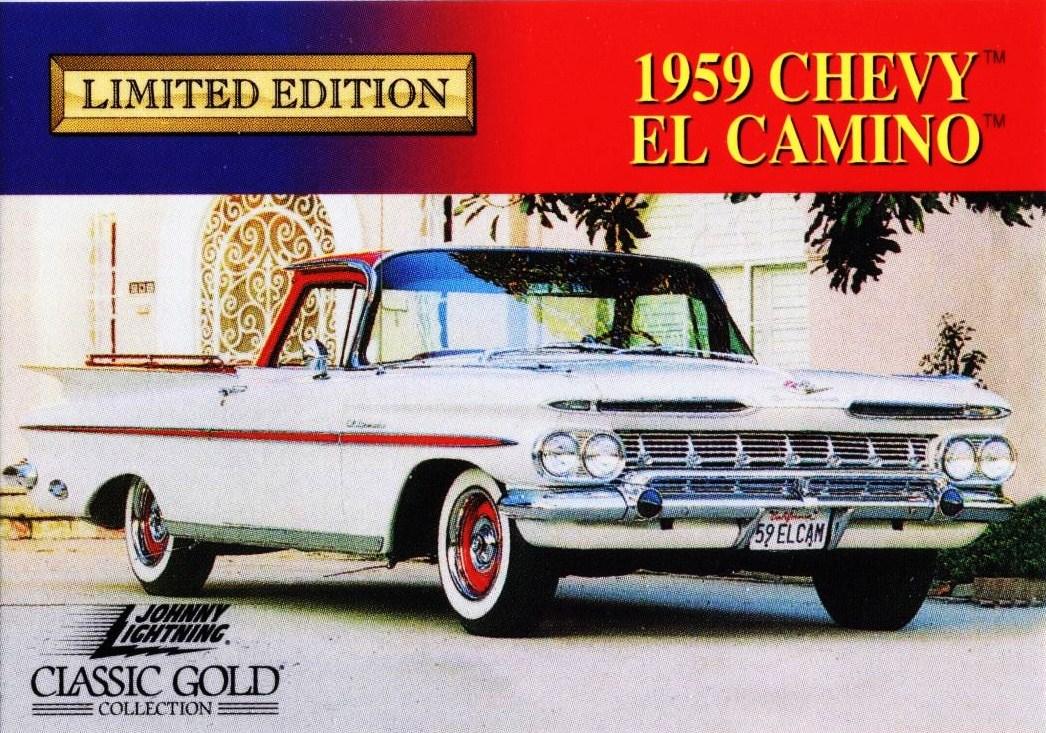Johnny Lightning 1959 Chevrolet El Camino