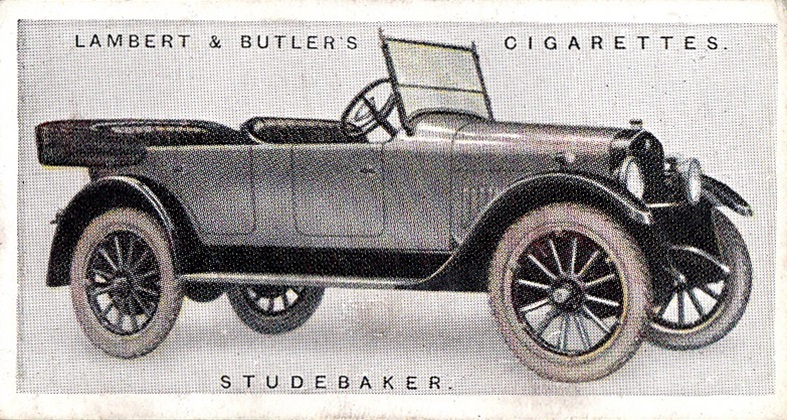 1922 Lambert & Butler's Motor Cars #05 (1)