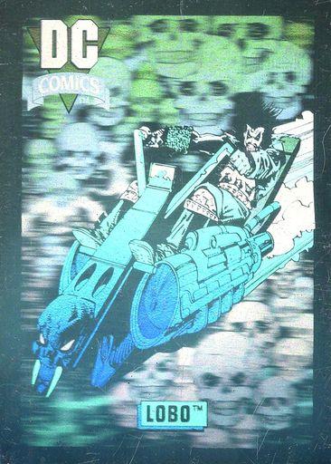 1992 Impel DC Comics Hologram #DCH07 (1)