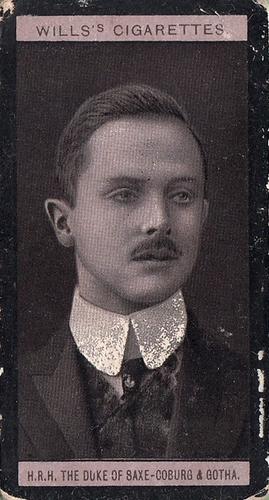 1908 Wills European Royalty #023 (1)