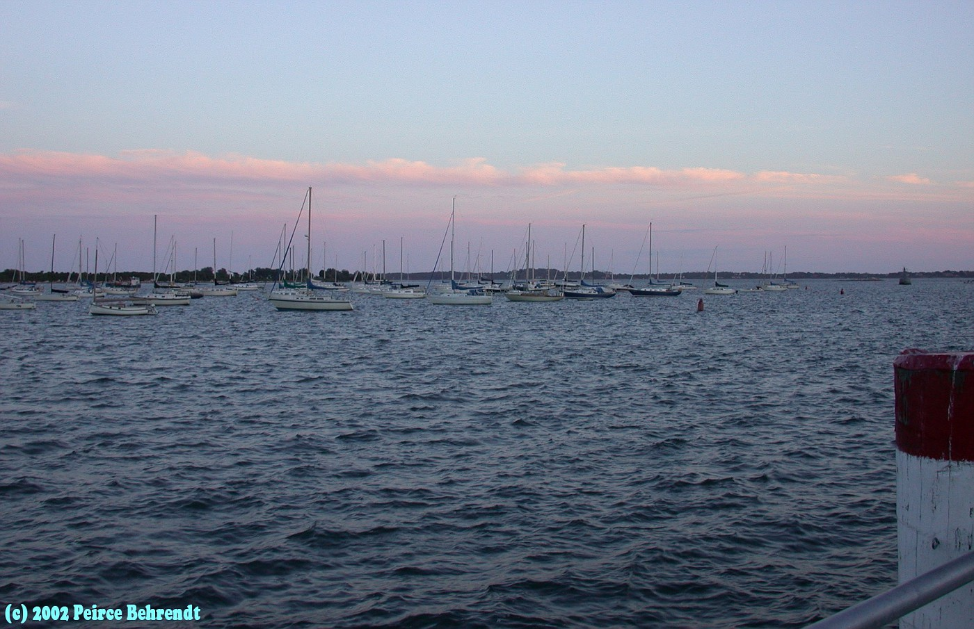 Sunset on the Mystic River