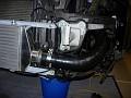 Driver hose installed