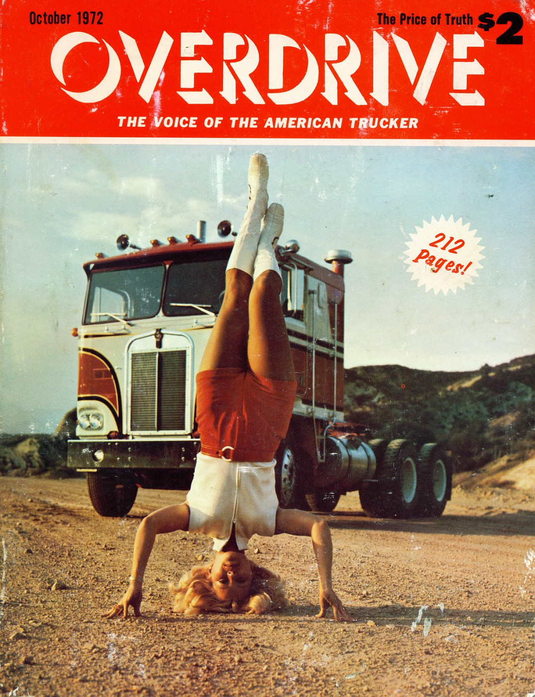 Cover Story, Overdrive Magazine, October '1972