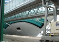 NORWEGIAN JADE from inside City Cruise Terminal