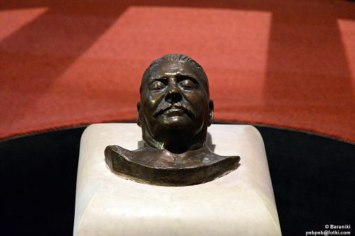 Maska pośmiertna Stalina